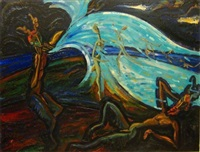 le faune endormi by joseph zabeau
