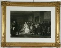 episodi della vita di napoleone bonaparte: matinée du dix-hiut brumaire, divorce de l'impératrice joséphine by jazet