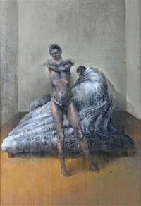 figura letto con nudo by luciano vadalà