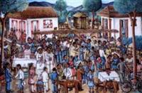 les noces au village by wilson bigaud