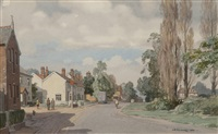 earl soham, suffolk by leonard russel squirrell