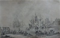 déchargement des navires by nicolaas aartman