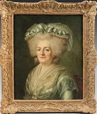 portrait de madame victoire by joseph boze