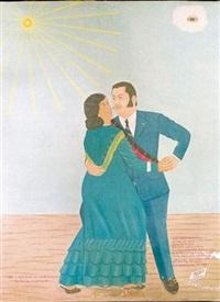 jean claude duvaller dansant avec la belle haïti by philomé obin