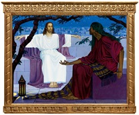 jesus and nicodemus by aladar kacziany
