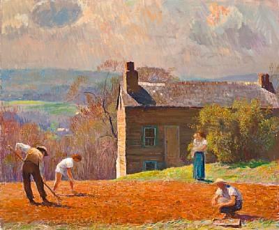 spring planting - stony ridge by daniel garber
