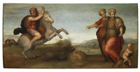 marcus curtius leaping into the abyss by pontormo (jacopo carucci)