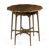 an occasional table by george washington jack