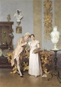 the art lesson by francesco beda
