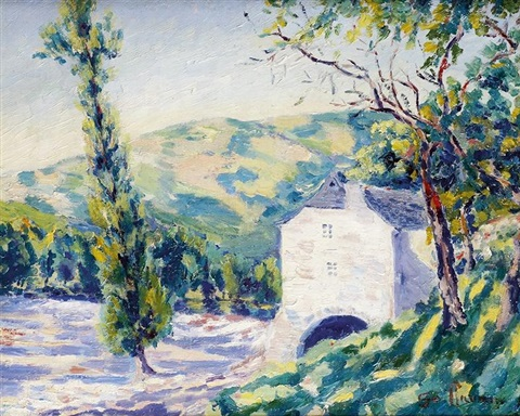 le moulin dentraygues by armand guillaumin