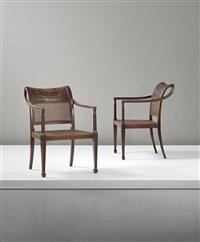 armchairs (pair) by axel einar hjorth