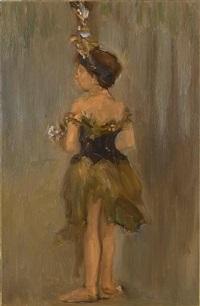 dancing girl by ansel krut