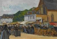bretonischer markt. wohl by fernand piet