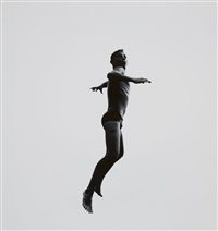 #482 (from the series: pleasure and terror of levitation) by aaron siskind