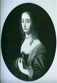 bildnis einer jungen dame by willem van honthorst