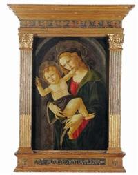 madonna con bambino by sandro botticelli