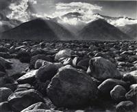 mount williamson from manzanar, california by ansel adams