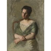 mrs. william shaw ward by thomas eakins