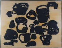 august (from four on plexi suite) by philip guston