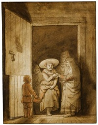 the visitation by samuel van hoogstraten