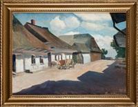 we wsi podkrakowskiej (+ św. teresy z avila (sketch), verso) by lucjan adwentowicz