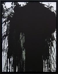 motive 4 - black by hermann nitsch