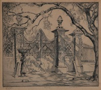 pineapple gates, charleston by elizabeth o'neill verner