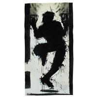 untitled (shadow figure) by richard hambleton