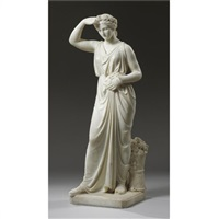standing maiden by francis montague handley
