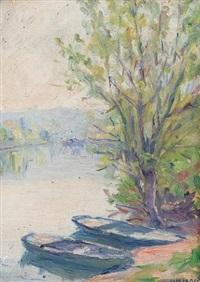la seine aux environs de paris by stelios miliadis