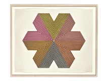 star of persia i (from star of persia series) by frank stella