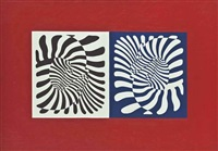 couples by victor vasarely