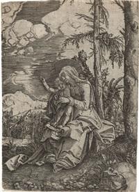 maria mit dem segnenden kinde by albrecht altdorfer