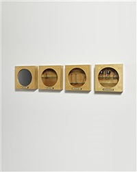 a-z cabinets (set of 4) by andrea zittel
