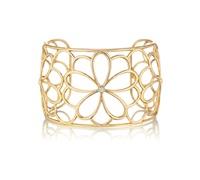 gold and diamond cuff bracelet by tiffany & company