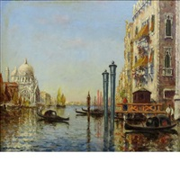 venice canal by charles cousin