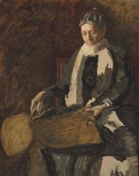 portrait of mrs. joseph w. drexel by thomas eakins