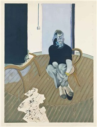 autoportrait by francis bacon