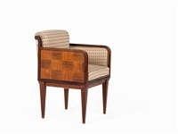 art deco desk chair by louis majorelle