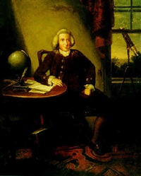 portrait of james ferguson, astronomer by david allan