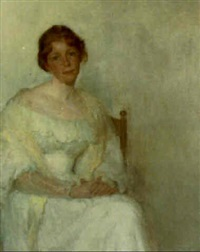 lady in white by wilton robert lockwood