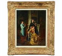 untitled, 18th century genre scene by continental school (19)
