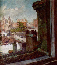 vista de la iglesia de los jerónimos by molina muñoz