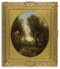 untitled (woodland scene) by robert scott duncanson