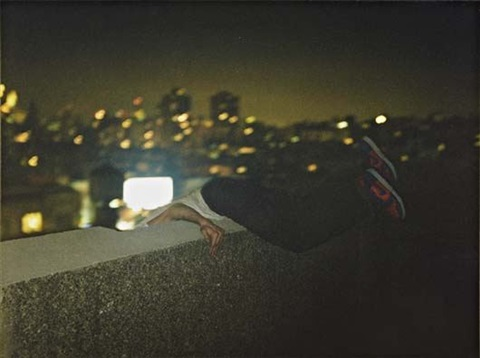 over ledge new york by ryan mcginley