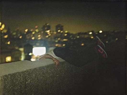 over ledge new york by ryan mcginley
