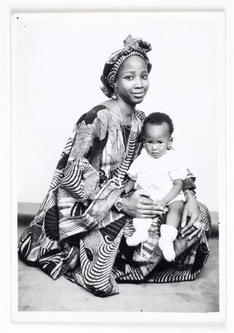 untitled studio portrait by malick sidibé