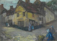 a breton village by david alison