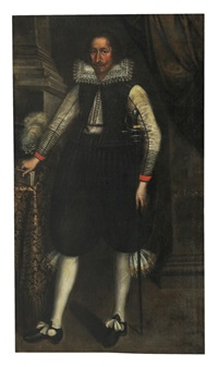 spanish gentleman by diego rodríguez de silva y velásquez