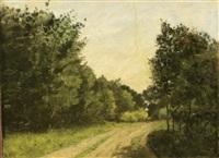 clairière - effets de soleil by antoine chintreuil